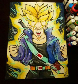 Super Saiyan Trunks! By Quil - Dragonball Z for Sale in Tracy, CA