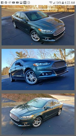 2015 Ford Fusion Titanium Hybrid for Sale in Acton, MA
