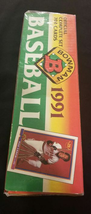 Factory sealed 1991 Bowman baseball cards complete set for Sale in Moreno Valley, CA
