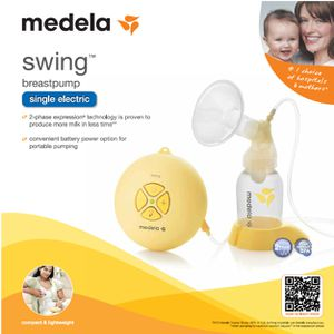 Medela Swing Single Electric Breast Pump Kit (67050) MSRP $169 for Sale in Lee's Summit, MO