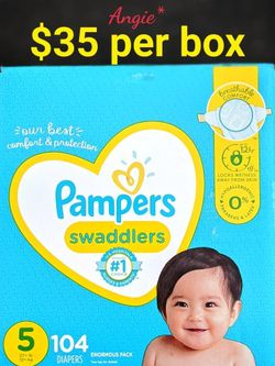 Pampers Swaddlers Size 5 for Sale in Lakewood,  CA