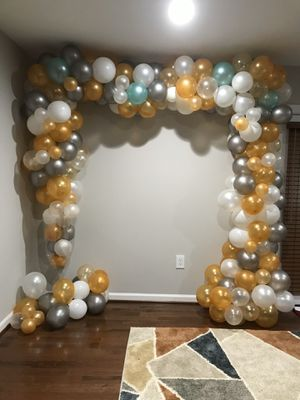 Balloon Decorations for your next event! ALL TYPES OF EVENTS for Sale in Gaithersburg, MD