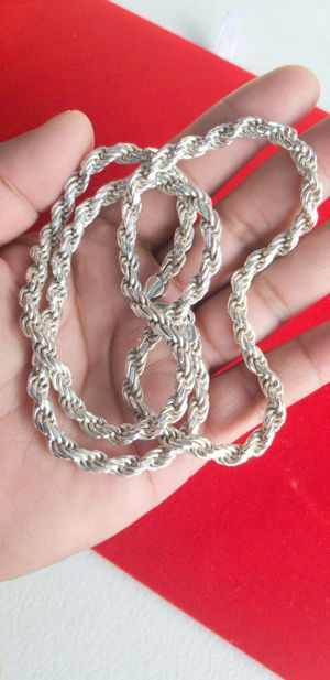 Silver chain for Sale in Downey, CA