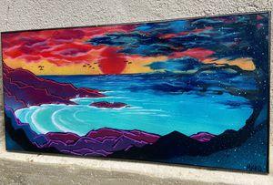 Original canvas painting 12x24 for Sale in Staunton, VA