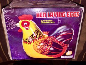 HenLaying eggs wind up toy collectible. Works great for Sale in San Diego, CA