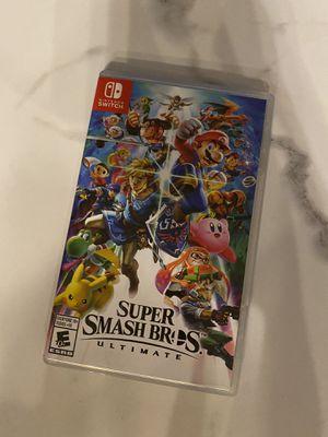 Nintendo switch Super smash bros for Sale in Sumner, WA