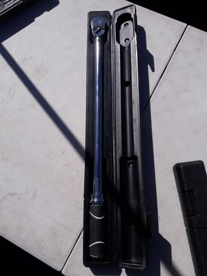 Husky 3/8 torque wrench price is firm for Sale in Fontana, CA