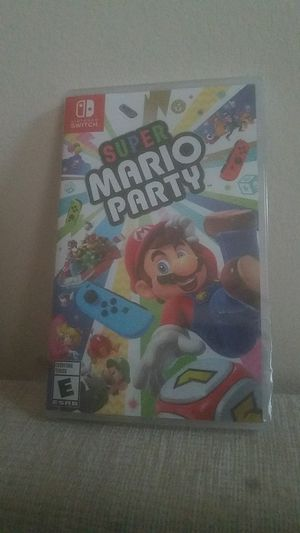 Super Mario party switch for Sale in Parma, OH
