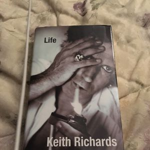 "Keith Richards book ""Life"" It is an amazing book, an easy read & entertaining! for Sale in Wichita, KS"