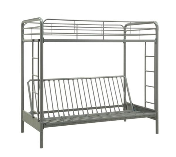 Like new!!! Twin bunk bed with futton