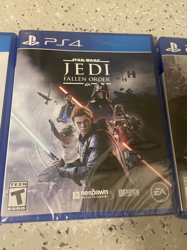 4 PS4 AAA Titles two in original packaging.