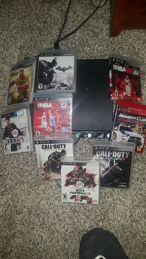 Ps3+multiple games for Sale in Marengo, OH