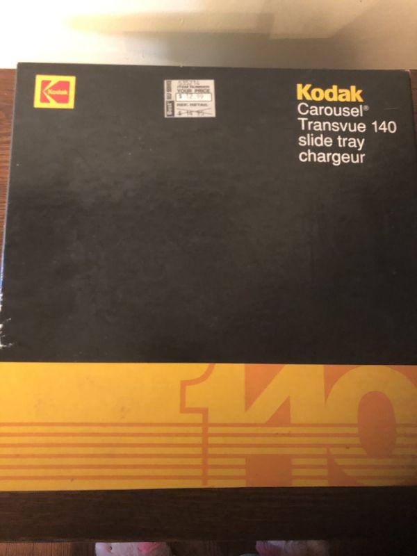 Kodak Transvue Carousel Slide Storage