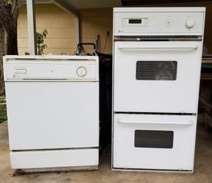 Maytag double oven and dishwasher for Sale in San Antonio, TX