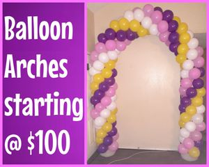 Balloon arches for Sale in Dallas, TX