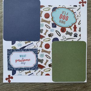 Scrapbook for dogs - pawsome page! for Sale in Hayward, CA