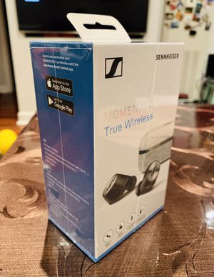 Brand New Sennheiser Momentum True Wireless Headphones for Sale in Chicago, IL