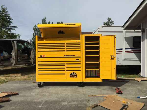 Mac tool box used for sale yellow hack online