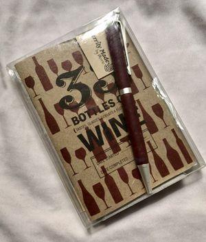 🍷📕 Wine Tasting Journal Book With Pen - - Libro De Vino for Sale in Chicago, IL