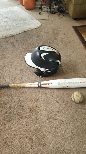 Easton youth baseball helmet & Easton youth baseball bat for Sale in Los Angeles, CA