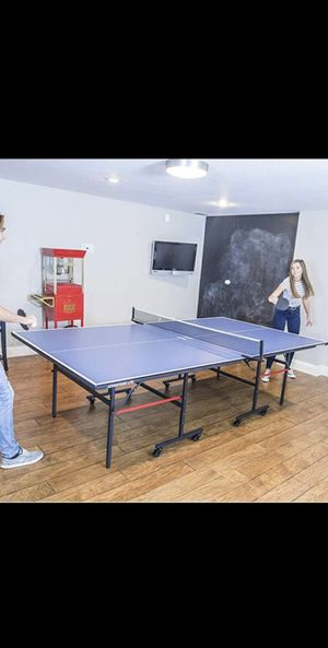 STIGA Advantage Competition-Ready Indoor Table Tennis Table 95% Preassembled Out of the Box with Easy Attach and Remove Net BRAND NEW IN BOX for Sale in Peoria, AZ