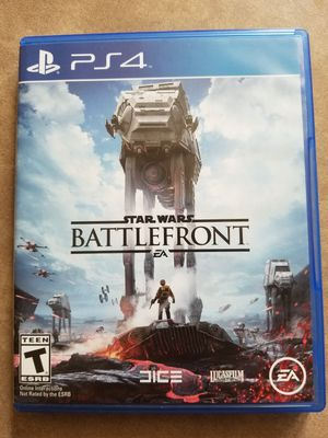 Star Wars Battlefront for Playstation 4 (PS4) for Sale in Burbank, IL