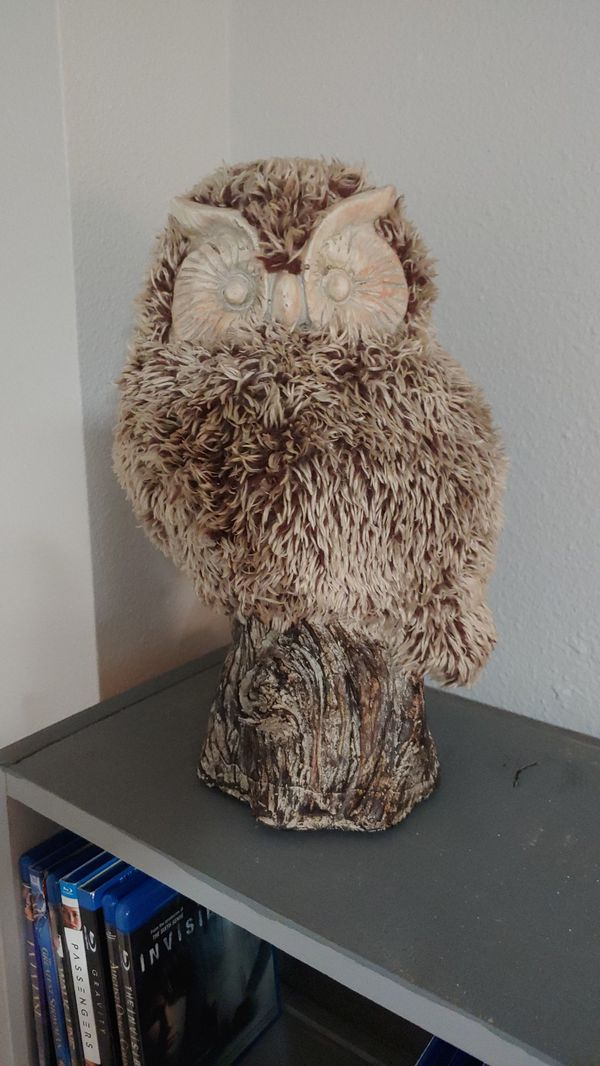 """Stands 14"""" tall Owl"""