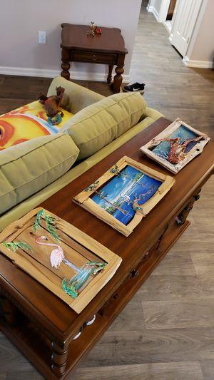 Key West Style Art - Decor (3) for Sale in Boynton Beach, FL