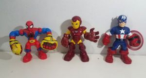 Talking Marvel Spiderman & Ironman & Captain America for Sale in Plainfield, IL