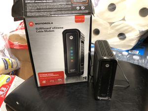 Motorola SURFboard SB6121 modem for Sale in Redmond, WA
