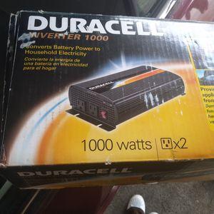 duracel inverter 1000 for Sale in Houston, TX