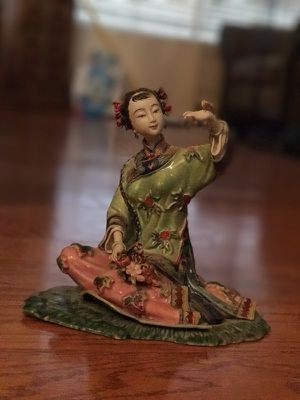 Beautiful condition ceramic Asian girl figurine for Sale in Phoenix, AZ