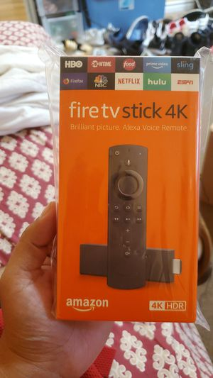 Amazon fire tv 4k for Sale in Chula Vista, CA
