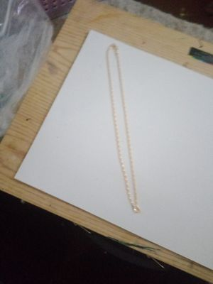 A gold plated chain for Sale in San Antonio, TX