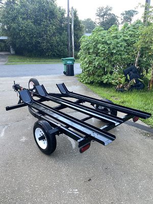2012 Load-Rite 3 Rail motorcycle trailer with ramp! for Sale in Deltona, FL