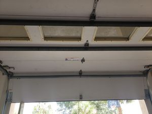 2 Complete insulated garage doors with all accessories. 8 ft. high x 9 ft. wide. for Sale in Land O' Lakes, FL