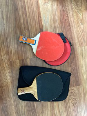 table tennis rackets for Sale in Cupertino, CA
