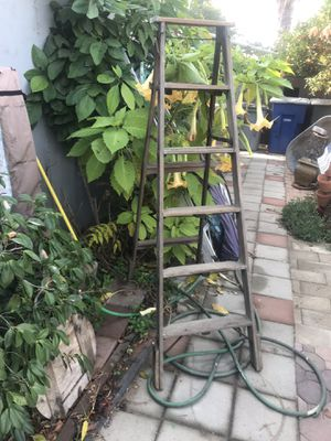 Wood ladder for Sale in Fresno, CA