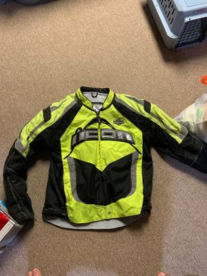 Icon motorcycle jacket for Sale in Fraser, MI
