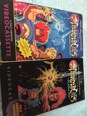 2 Thundercats vhs tapes for Sale in Houston, TX