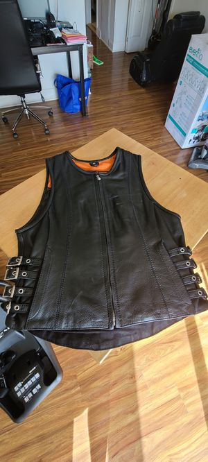 Leather Motorcycle Vest for Sale in Levittown, PA