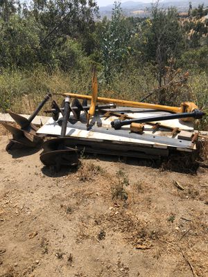 Auger attachment to tractor with bits for Sale in Fallbrook, CA