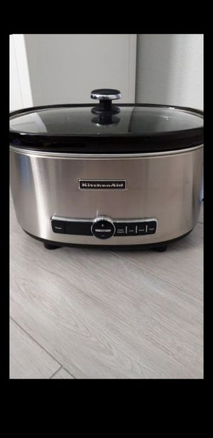 Slow Cooker Six (6) Quart by Kitchen Aid for Sale in Las Vegas, NV