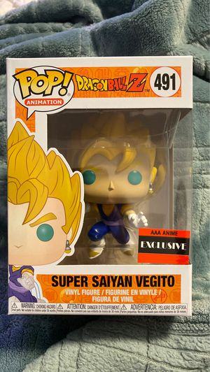 Super Saiyan Vegito AAA anime exclusive funko pop mint for Sale in San Jose, CA