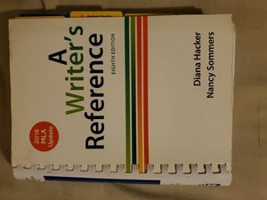 A Writer's Reference for Sale in Anaheim, CA