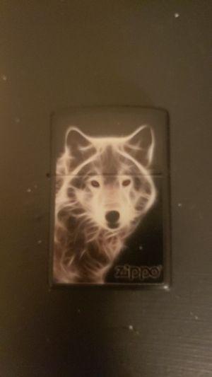 Wolf zippo lighter for Sale in Modesto, CA
