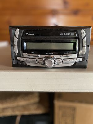 New Ford Pioneer Premium 6 CD Changer Audiophile Radio Stereo 5LFT-18C815-CA 1998 - 2012 for Sale in Dearborn, MI