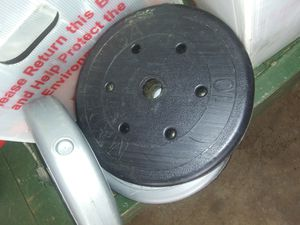 Weights only, 4 discs totaling 40 lbs for Sale in Easley, SC