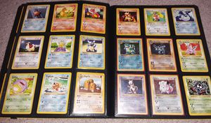 Pokemon cards Shadowless base set near complete 71/102 for Sale in Philadelphia, PA