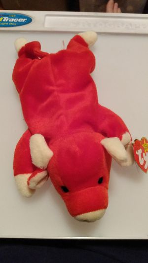 TY Beanie Babies RARE Retired 1995 Snort w Tag Errors. PVC .1ST EDITION Vintage for Sale in San Antonio, TX